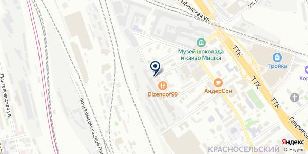 АВТА-ФАРМ на карте Москве