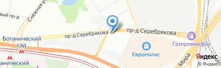СТС Групп на карте Москвы