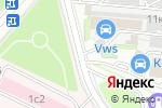 Схема проезда до компании Олимп Спецодежда в Москве