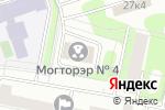 Схема проезда до компании Межрайонный отдел государственного технического осмотра и регистрации экзаменационной работы ГИБДД №4 в Москве