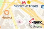 Схема проезда до компании АСНА в Москве