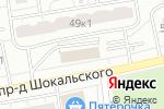Схема проезда до компании Центр защиты населения в Москве