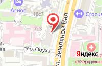 Схема проезда до компании Российское общество медицинской элементологии в Москве