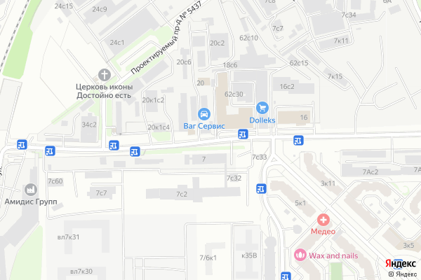 Ремонт телевизоров Улица 6 я Радиальная на яндекс карте