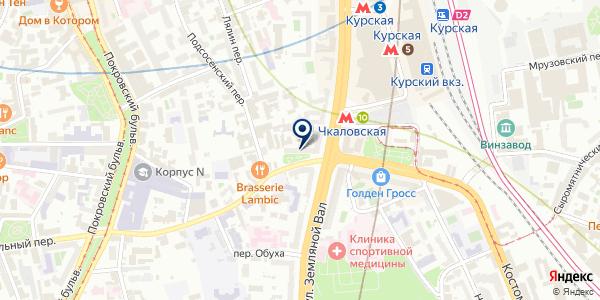 Банкомат, Банк МБА-Москва на карте Москве