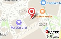 Схема проезда до компании Бсп-Принт в Москве