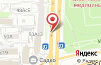 Схема проезда до компании Русальфагарант в Москве