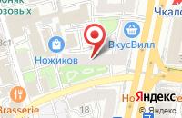 Схема проезда до компании Ксанто в Москве