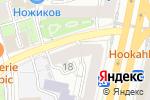 Схема проезда до компании МАМА Я В ТБИЛИСЕ в Москве