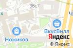 Схема проезда до компании МедЦентрСервис в Москве