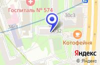 Схема проезда до компании ТФ МИГ ВАРИАНТ в Москве