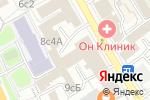 Схема проезда до компании ОН КЛИНИК ТАГАНКА в Москве