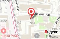Схема проезда до компании Эдм Групп в Москве
