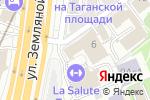 Схема проезда до компании Рекламно-полиграфический центр в Большом Дровяном переулке в Москве