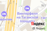 Схема проезда до компании Плюс Банк в Москве