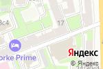 Схема проезда до компании Топотушки в Москве