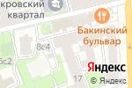 Схема проезда до компании Живая еда в Москве