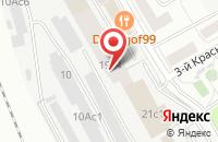 Схема проезда до компании Джаз Принт в Москве