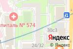 Схема проезда до компании РБК-Компьютерс в Москве