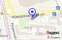 Схема проезда до компании ТРАНСПОРТНАЯ КОМПАНИЯ СОДРУЖЕСТВО в Москве