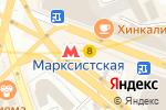Схема проезда до компании Блинная в Москве