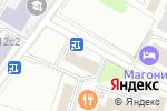 Схема проезда до компании Мосстрой-16 в Москве