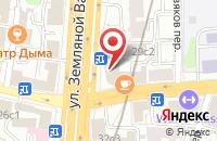 Схема проезда до компании Продеко в Москве