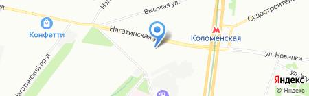 ЛИД на карте Москвы