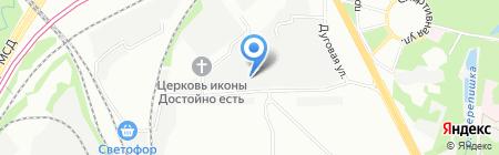 КОВКАПРОМ на карте Москвы