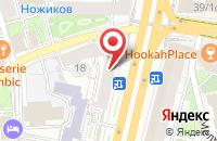 Схема проезда до компании Рентеко в Москве