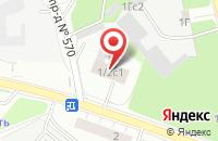 Схема проезда до компании Полет в Москве