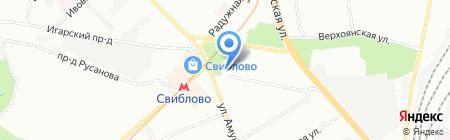 Сервис для вас на карте Москвы