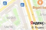 Схема проезда до компании Анас в Москве