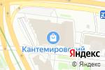 Схема проезда до компании Церковная лавка на Кантемировской в Москве