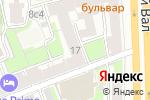 Схема проезда до компании Экофабрика Старославъ в Москве