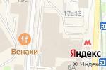 Схема проезда до компании ЧайКоф групп в Москве