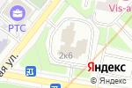 Схема проезда до компании Технофон в Москве