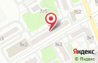 Схема проезда до компании Федерация Айкидзюцу и Айкидо в Москве