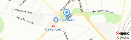 СВРК на карте Москвы
