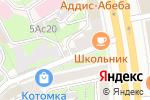 Схема проезда до компании Земляной Вал в Москве