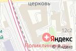 Схема проезда до компании Dress Code Rent в Москве