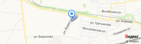 Веста на карте Донецка