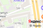 Схема проезда до компании Adele Marie в Москве