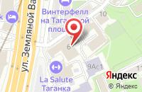 Схема проезда до компании Профессиональные Услуги в Москве