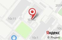 Схема проезда до компании Р.А. Колибри в Москве