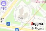 Схема проезда до компании Аллада в Москве