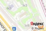 Схема проезда до компании Межрегионстройальянс в Москве