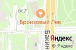 Схема проезда до компании Нарсервис в Москве
