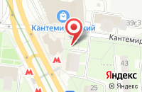 Схема проезда до компании Центавр в Москве