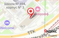 Схема проезда до компании Единое Информационное Пространство в Москве